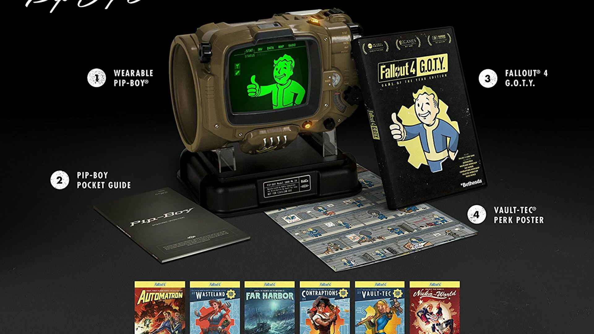 Save $20 on the New Fallout 4 GOTY Pip-Boy Edition