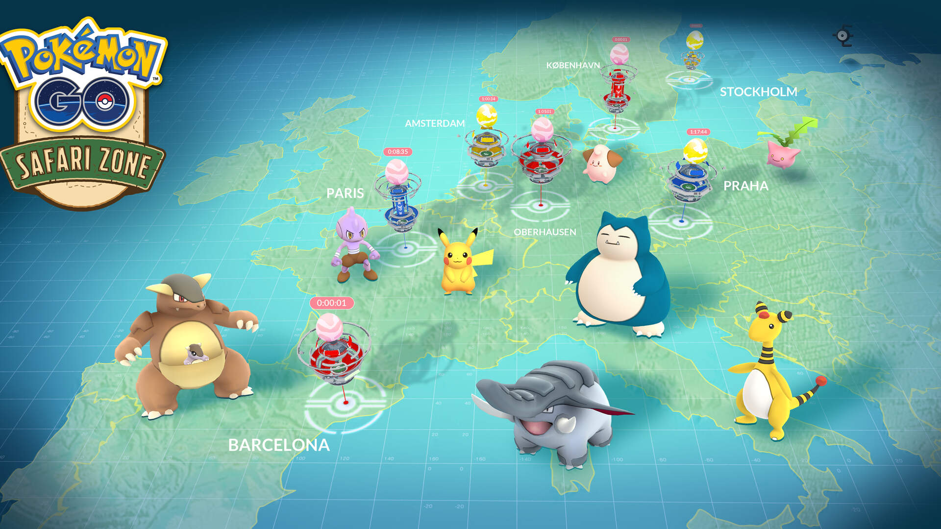 The Pokemon Go Fest Asks Players From All Around the World to Team Up for Special Bonuses