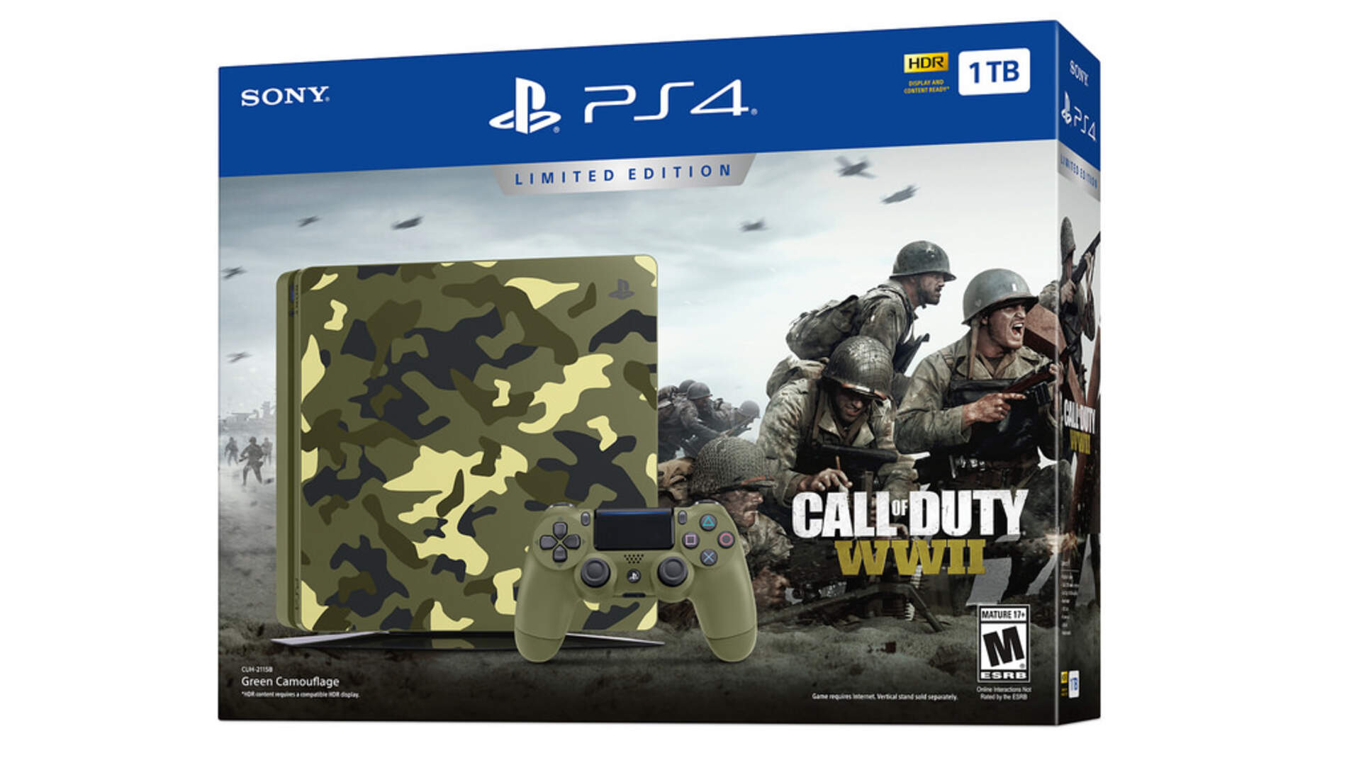 Yup, This Sure is a Camouflage PS4 Bundle for Call of Duty: WWII