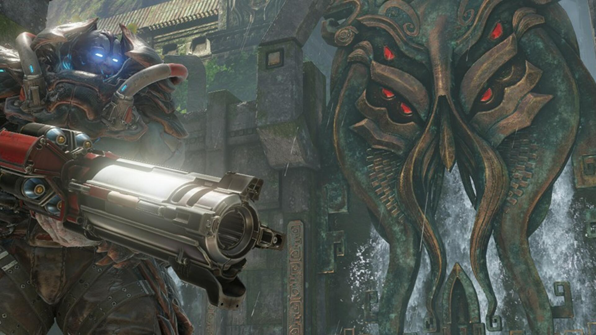 Quake Champions is Going Free-to-Play Permanently