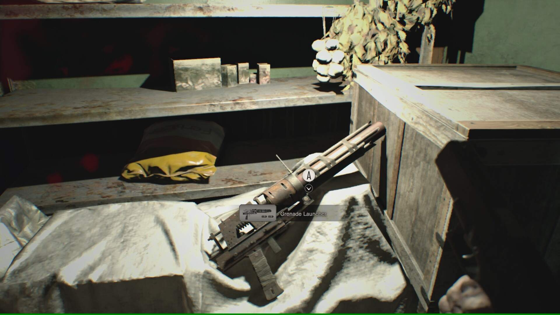 Resident Evil 7 Walkthrough: the Detention Room, How To Get the Grenade Launcher and the Snake Key