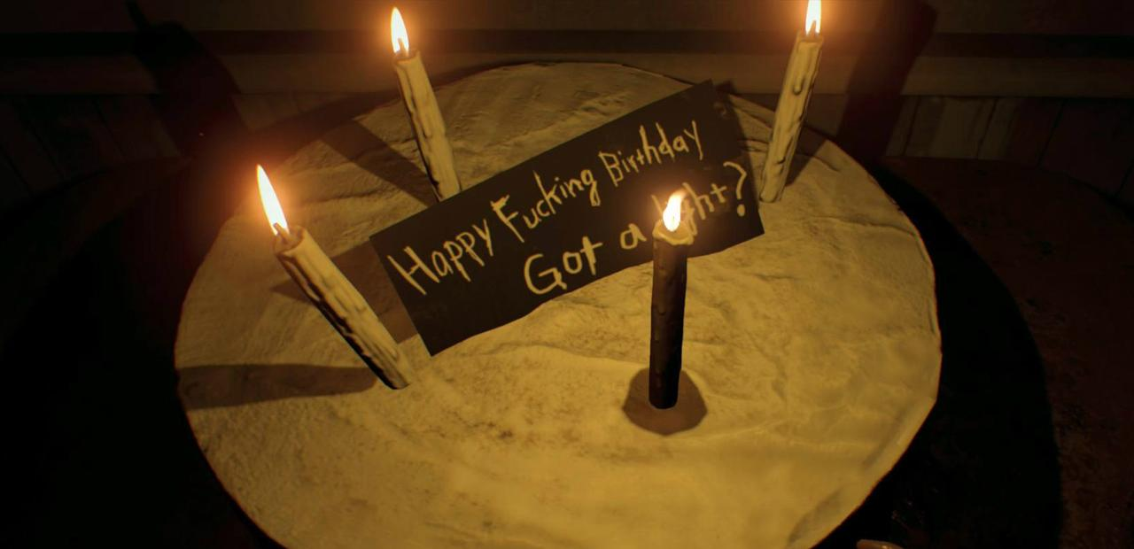 Resident Evil 7 Happy Birthday Videotape Guide Clean The