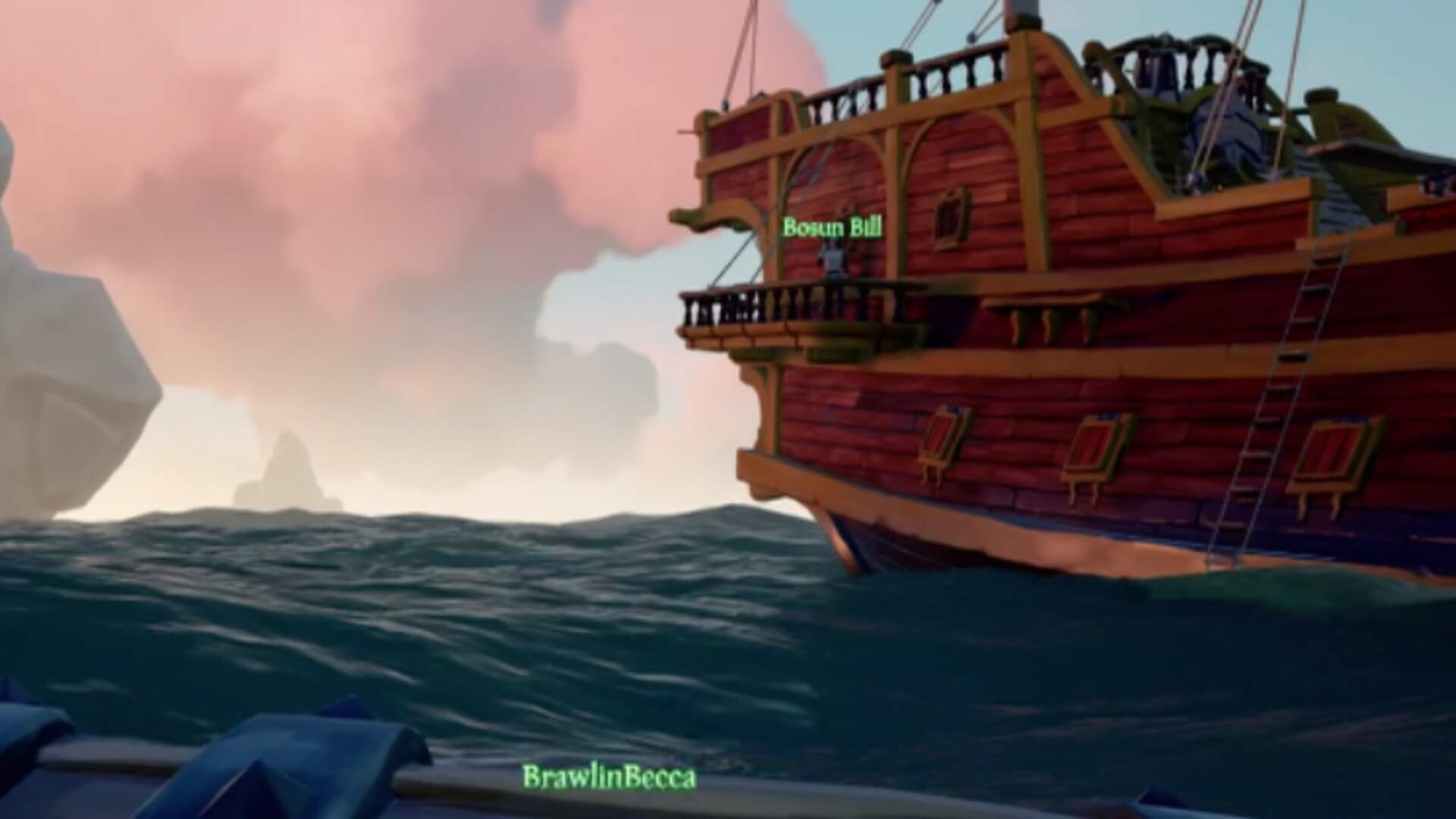 Players Plunder Booty in the Extended Demo for Rare's Sea of Thieves on Xbox One X
