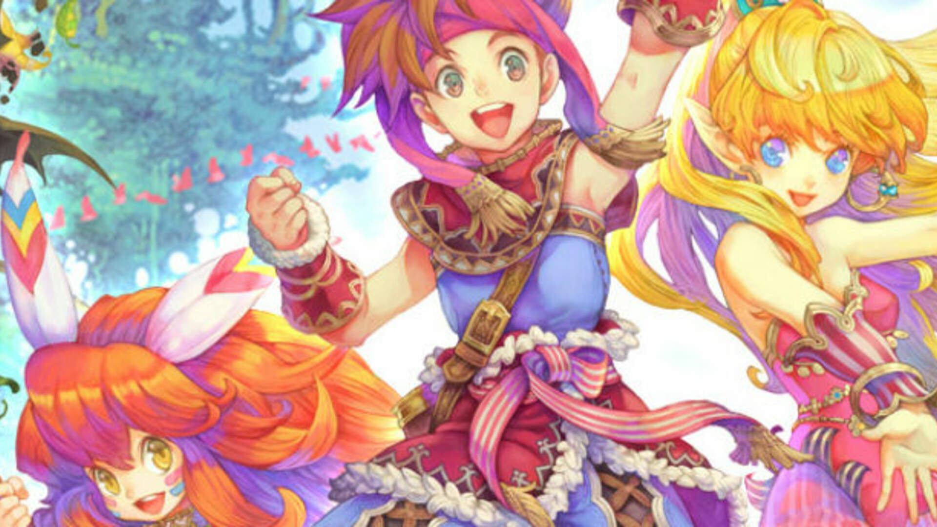 Secret of Mana Gets a Remake on PS4, Vita, and PC