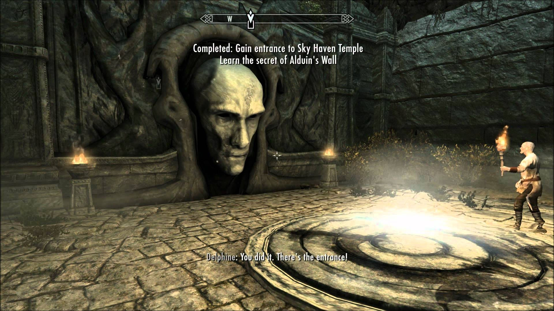 Skyrim Alduin S Wall Quest Guide Complete Walkthrough