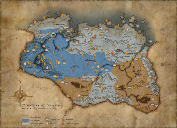 20 Amazing In Game Maps That Did More Than Show The Way Forward