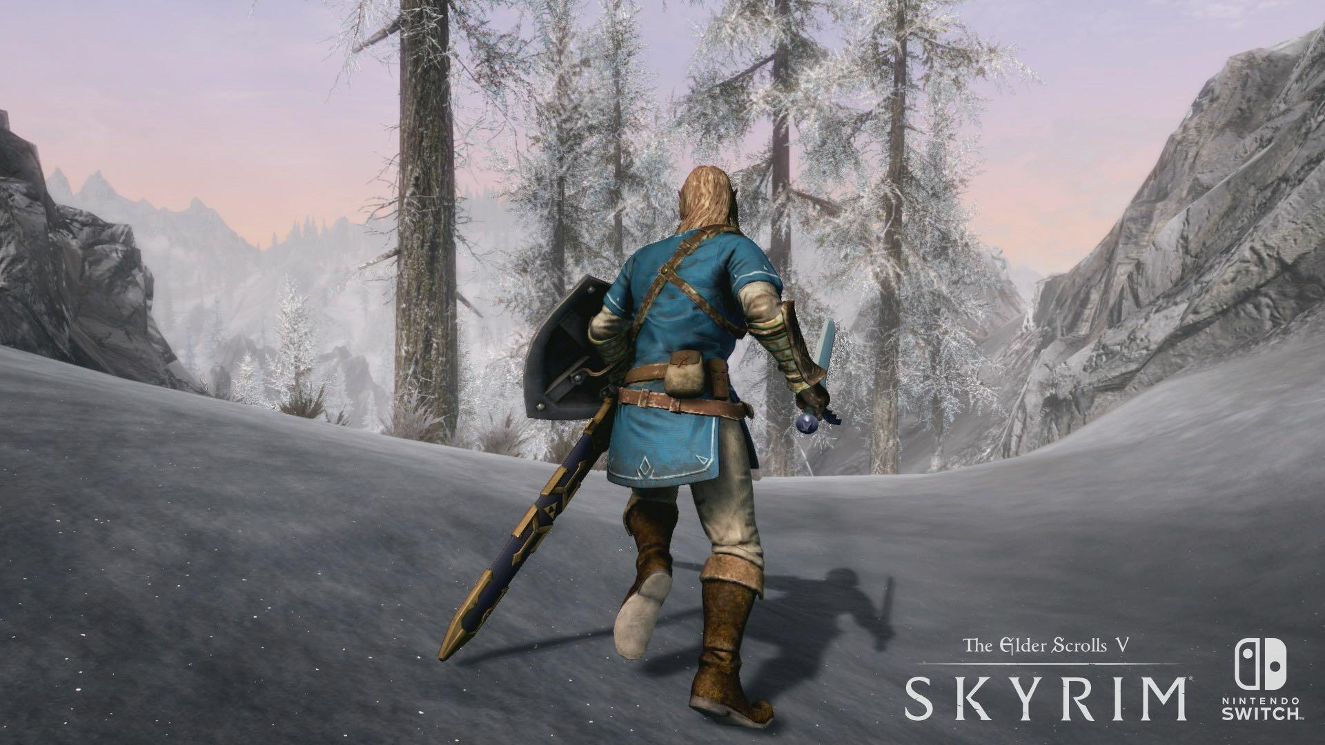 """Skyrim on the Switch: No Mod Support """"Planned at This TIme"""""""