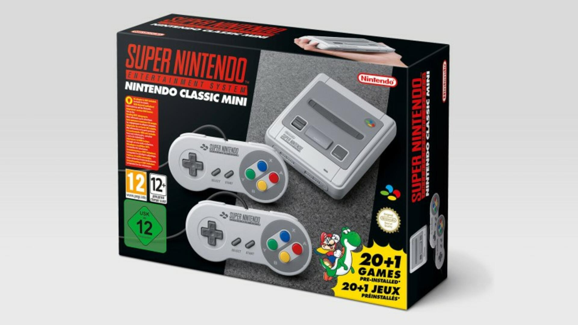 Some Customers Already Received Their SNES Classic Systems