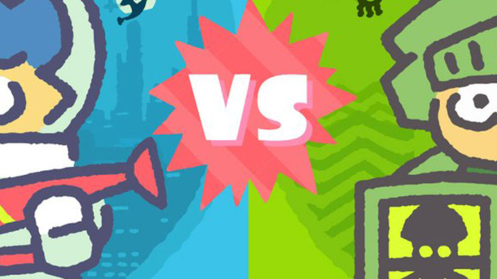 Splatoon 2's Next Splatfest Takes the Fight to Genre Fiction