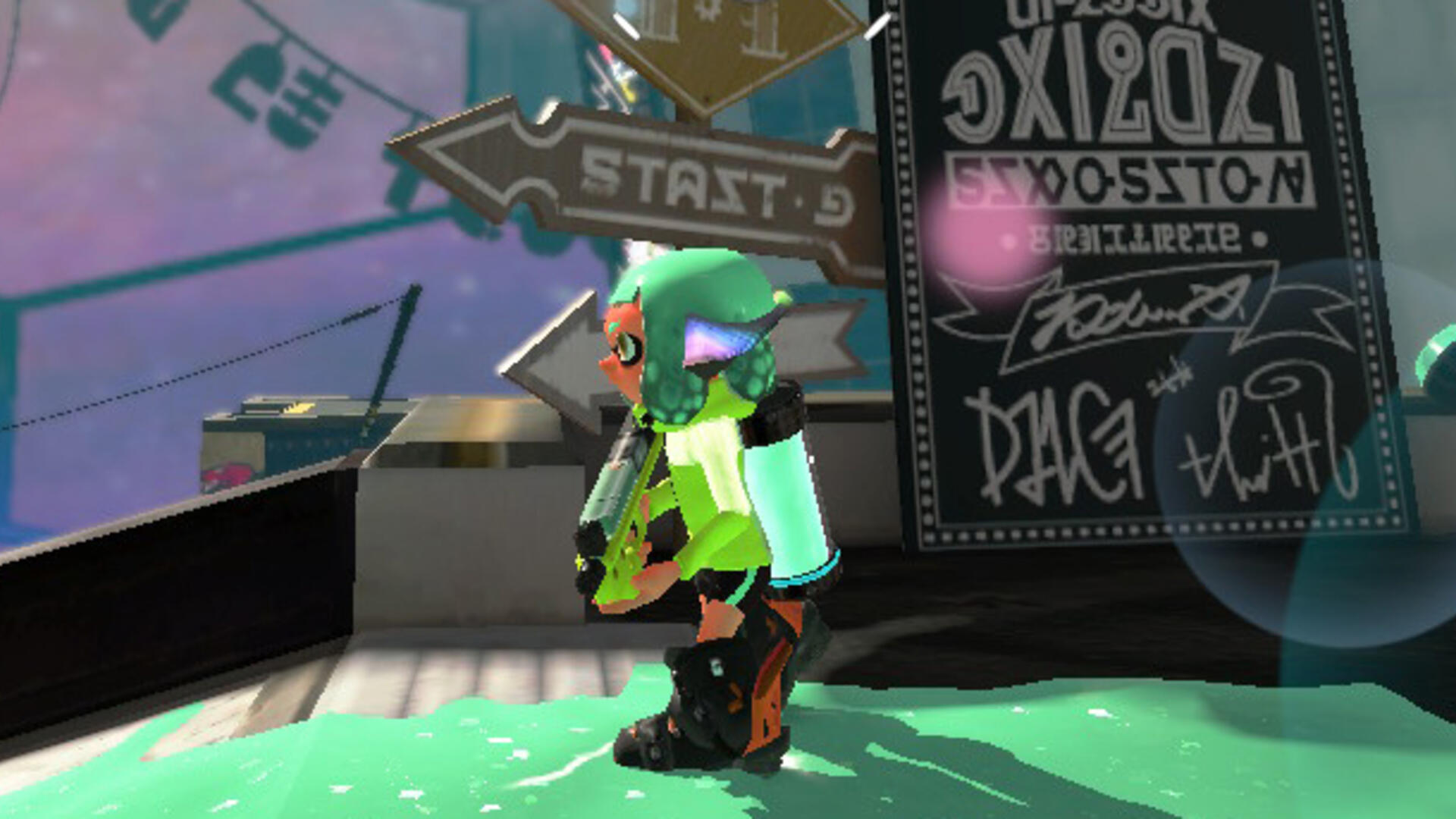 Splatoon 2's Single-Player Campaign Keeps the Stakes Grounded