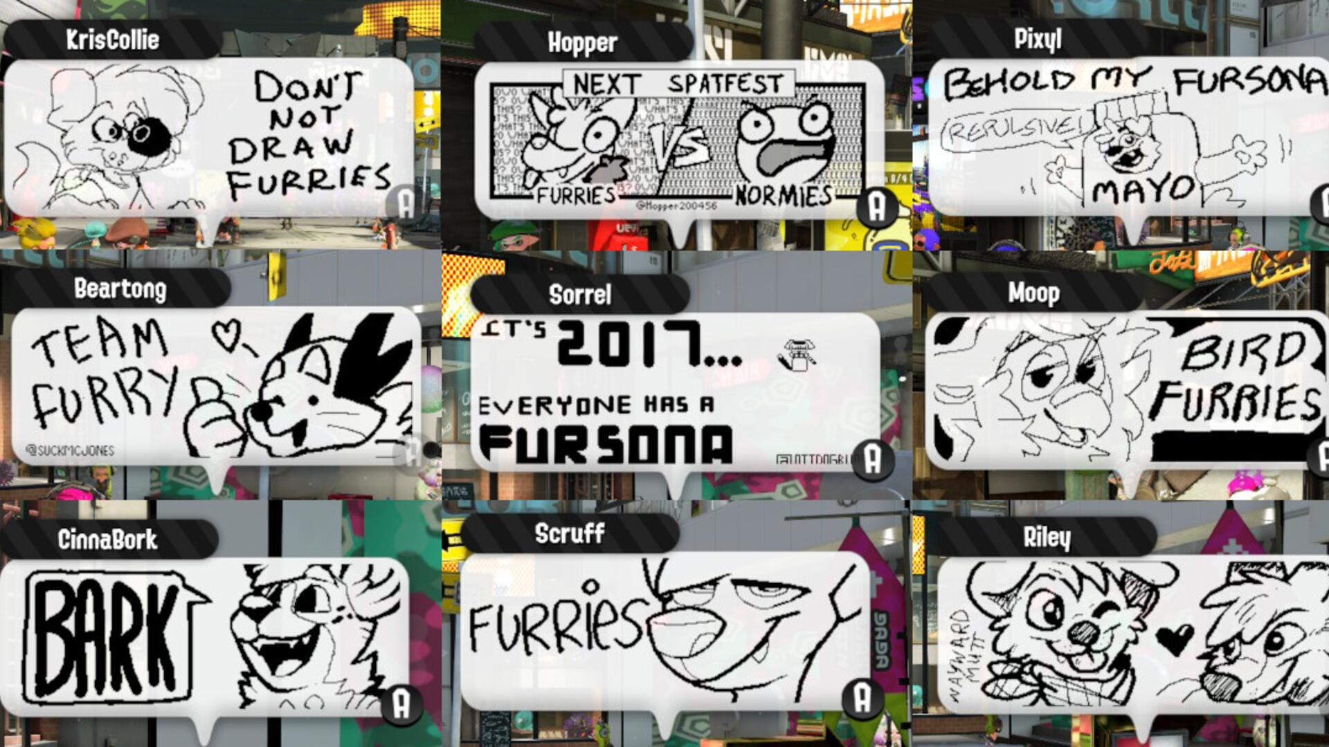 This Splatoon 2 Reddit Thread About Furries Is Surprisingly