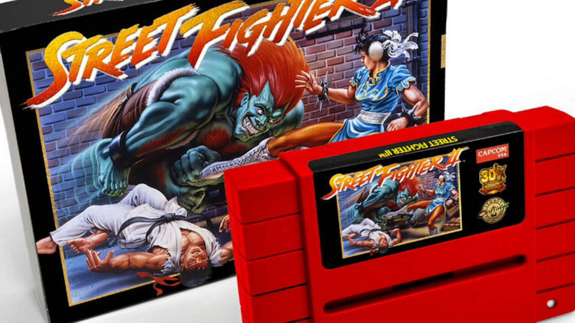 Capcom is Re-Releasing Street Fighter 2 on the Original SNES