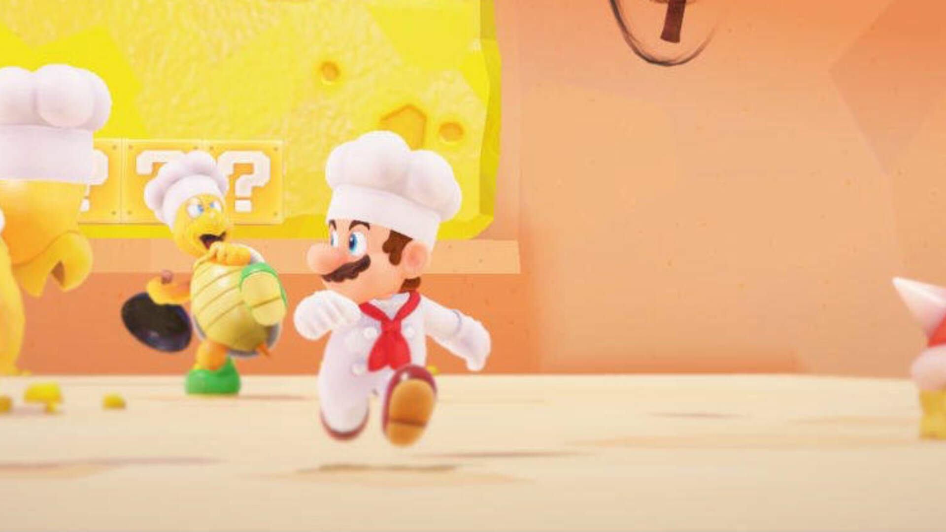 Super Mario Odyssey Shows Off the Luncheon Kingdom, a Heaven for Foodies