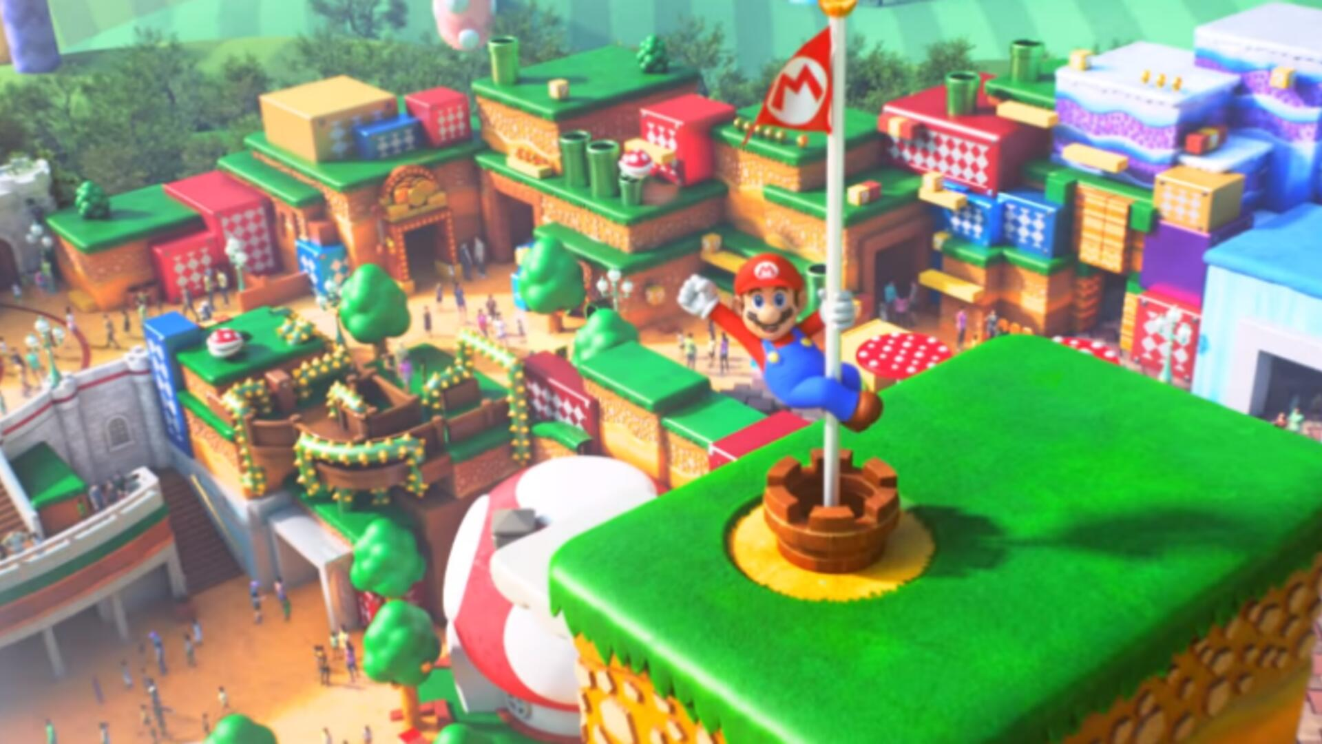 The Trailer for Universal's Super Nintendo World Continues to Raise Serious Questions About Mario