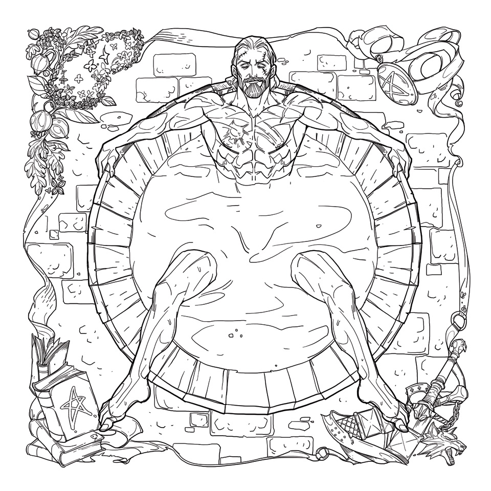 The Witcher Adult Coloring Book Is Latest In A Long Line Of Books From Comics Publisher Past Dark Horse Have Published