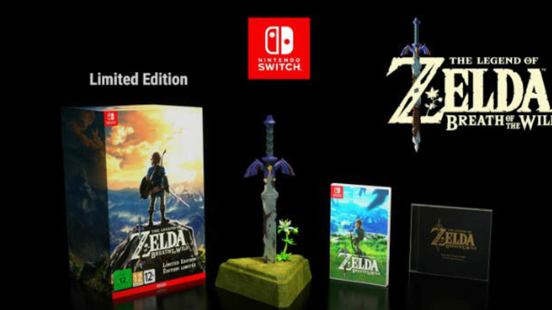 "Eiji Aonuma Unboxes the Legend of Zelda: Breath of the Wild, Talks About ""Master Sword of Resurrection"""