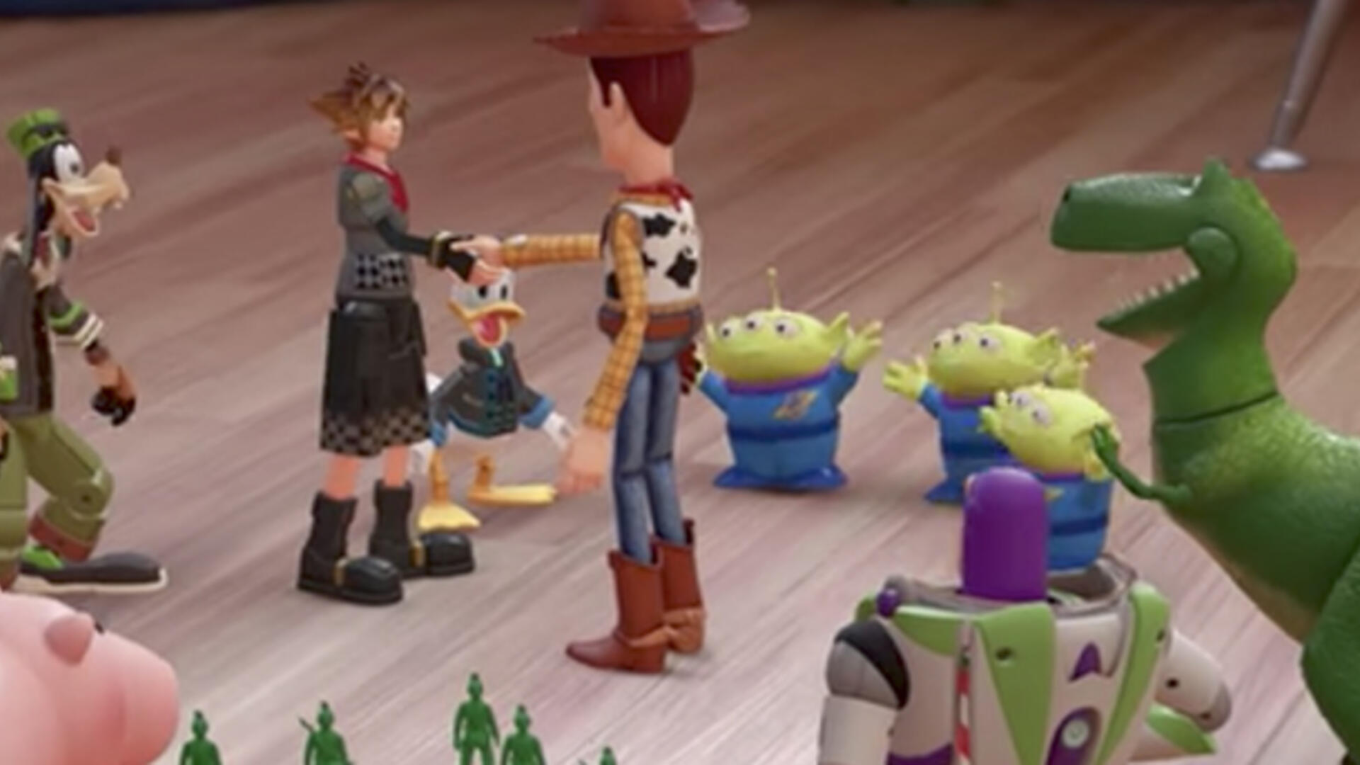 Kingdom Hearts 3 Gets 2018 Release Window and Toy Story World, Howdy Howdy Howdy