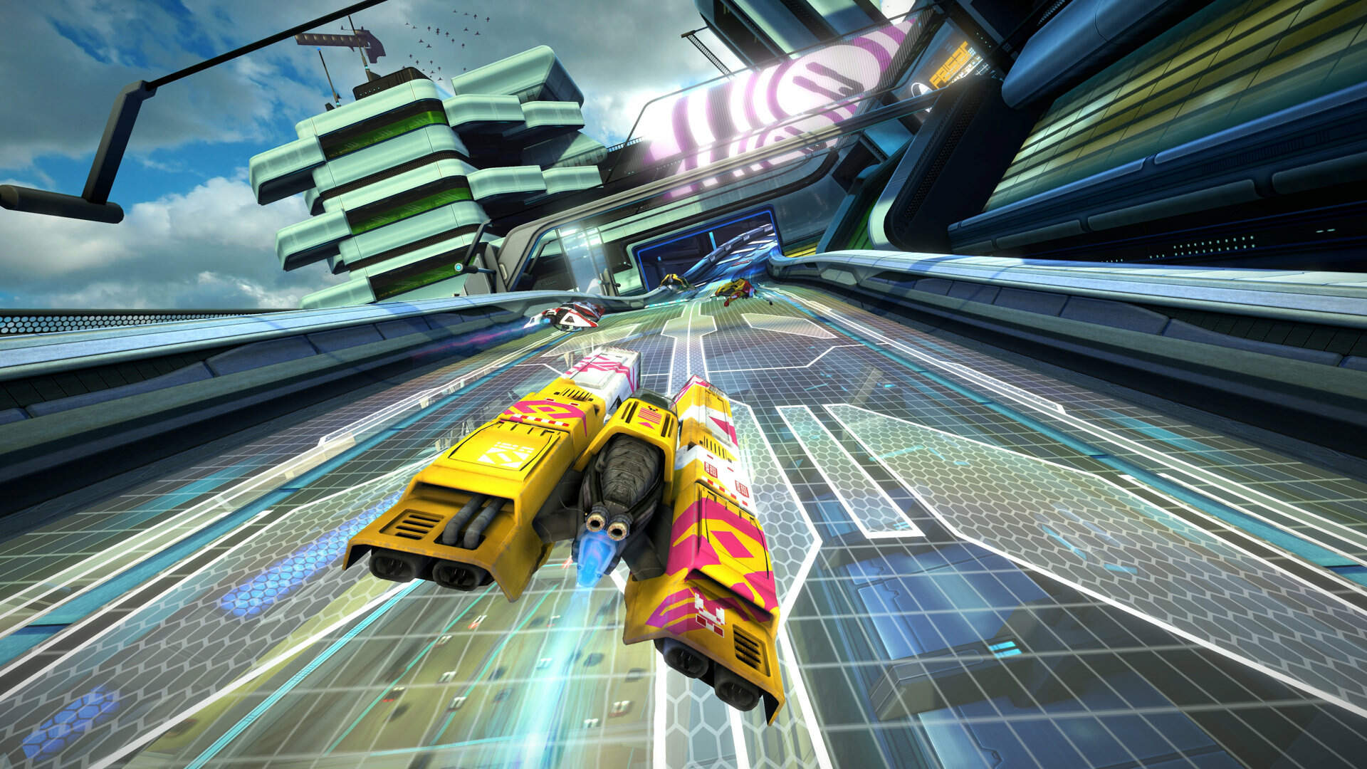 Wipeout Omega Collection Now Available in VR Thanks to Free Update