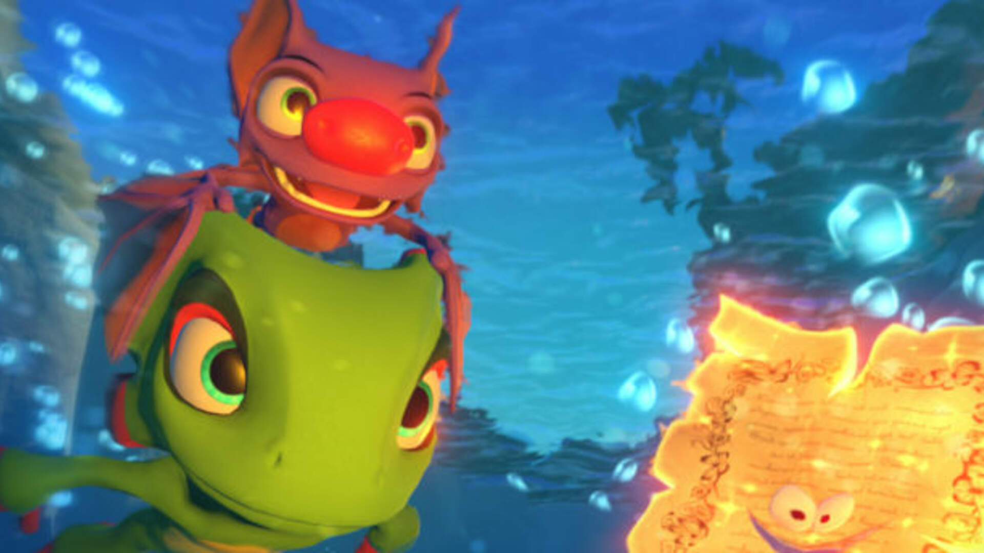 Yooka-Laylee Gets a Patch to Fix Some of Its Bugs and Performance Issues