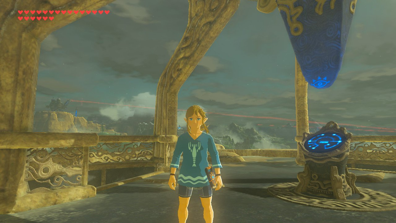 Zelda: Breath of the Wild Treasure Garb of Winds Guide - How to Get the Island Lobster Shirt in ...