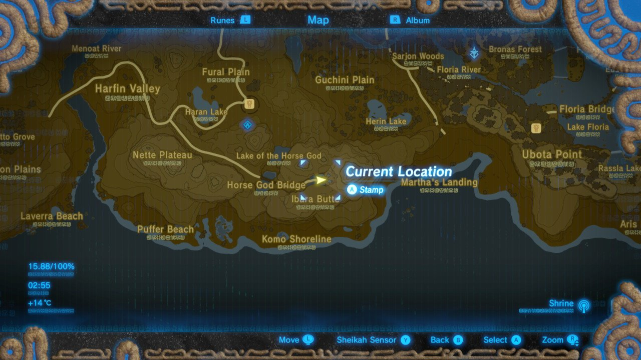 Zelda Breath of the Wild Revive Horses - Where to Find