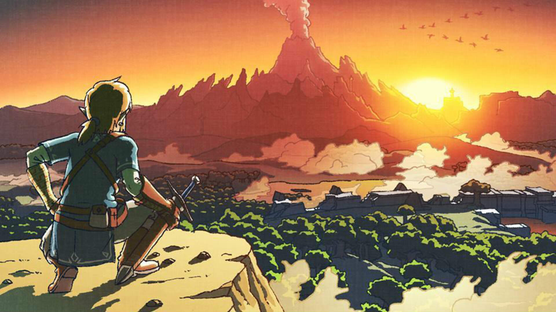Link is an 80s Anime Lady in This Ancient Magazine Unearthed by Twitter