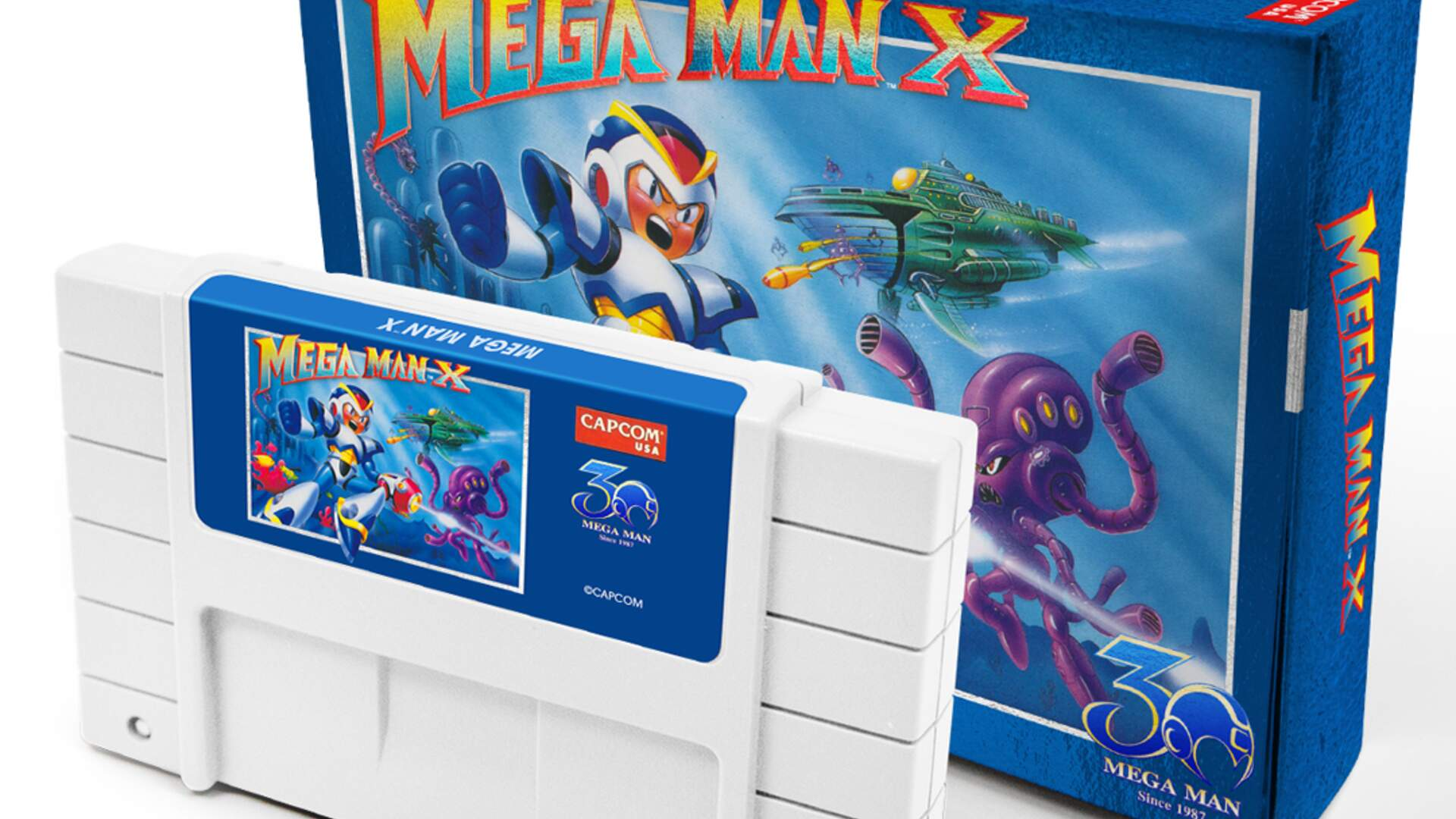 Mega Man 2 and Mega Man X are Getting Re-Released on Cartridge for Its 30th Anniversary