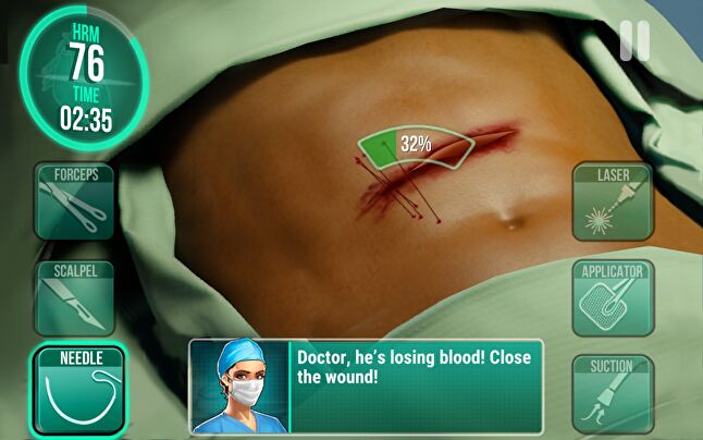 Operate Now players progress based on their surgery skills, whereas other titles require them to complete levels, prompting a different live ops approach