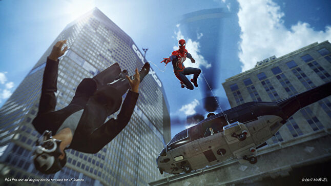 Insomniac's 'home base' phrase for Spider-Man on PS4 is that it's a 'completely original' take on the hero.