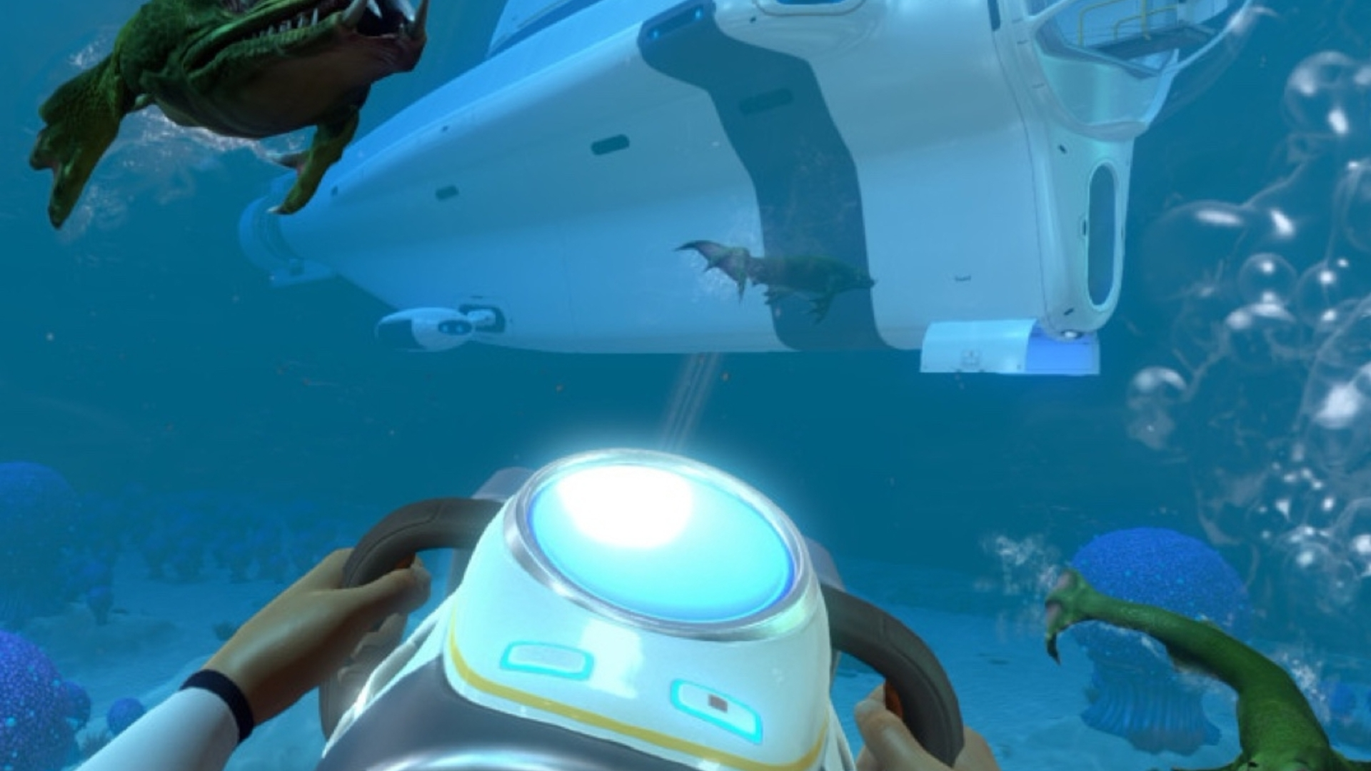 deep sea survival adventure subnautica launches this month after