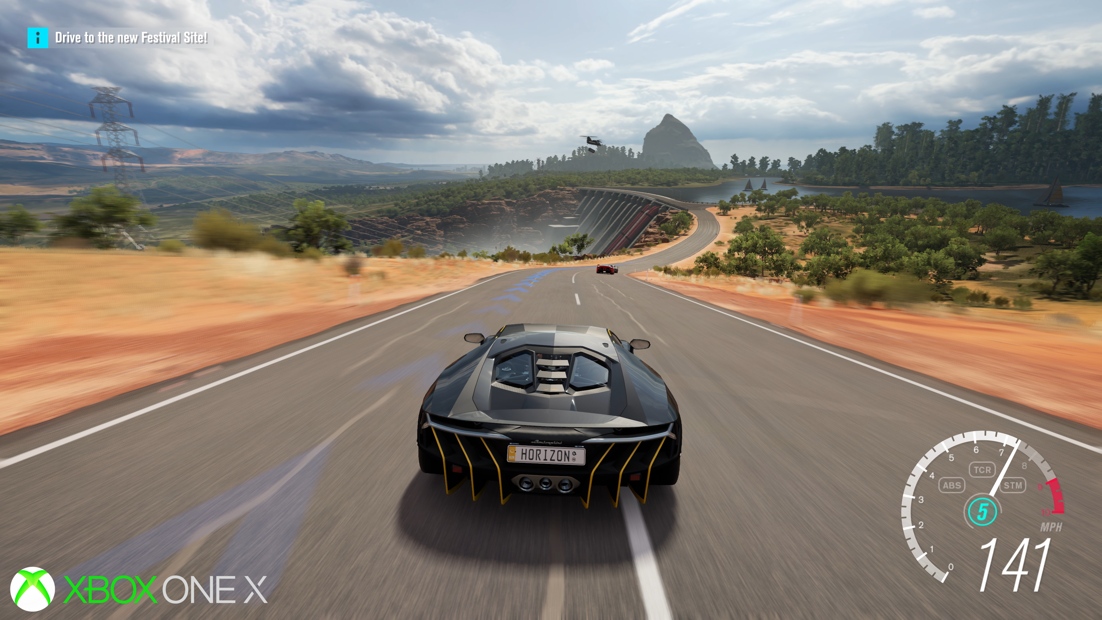 forza horizon 3 39 s xbox one x update is a true showcase for console 4k. Black Bedroom Furniture Sets. Home Design Ideas