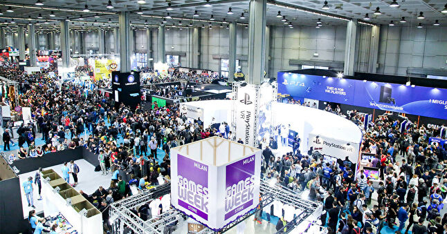 Milan Games Week 2017 attracted almost 150,000 visitors