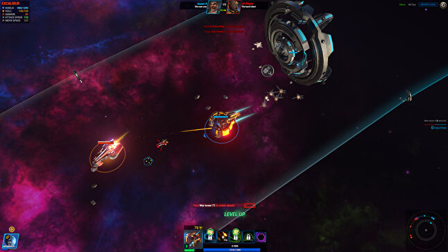 Beyond the Void takes inspiration from MOBAs and RTS games