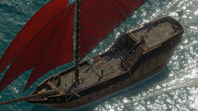 Obsidian is changing the scope the sequel with the inclusion of ships and seafaring
