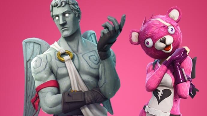 Fortnite unveils new Valentine's event details, skins, and crossbows