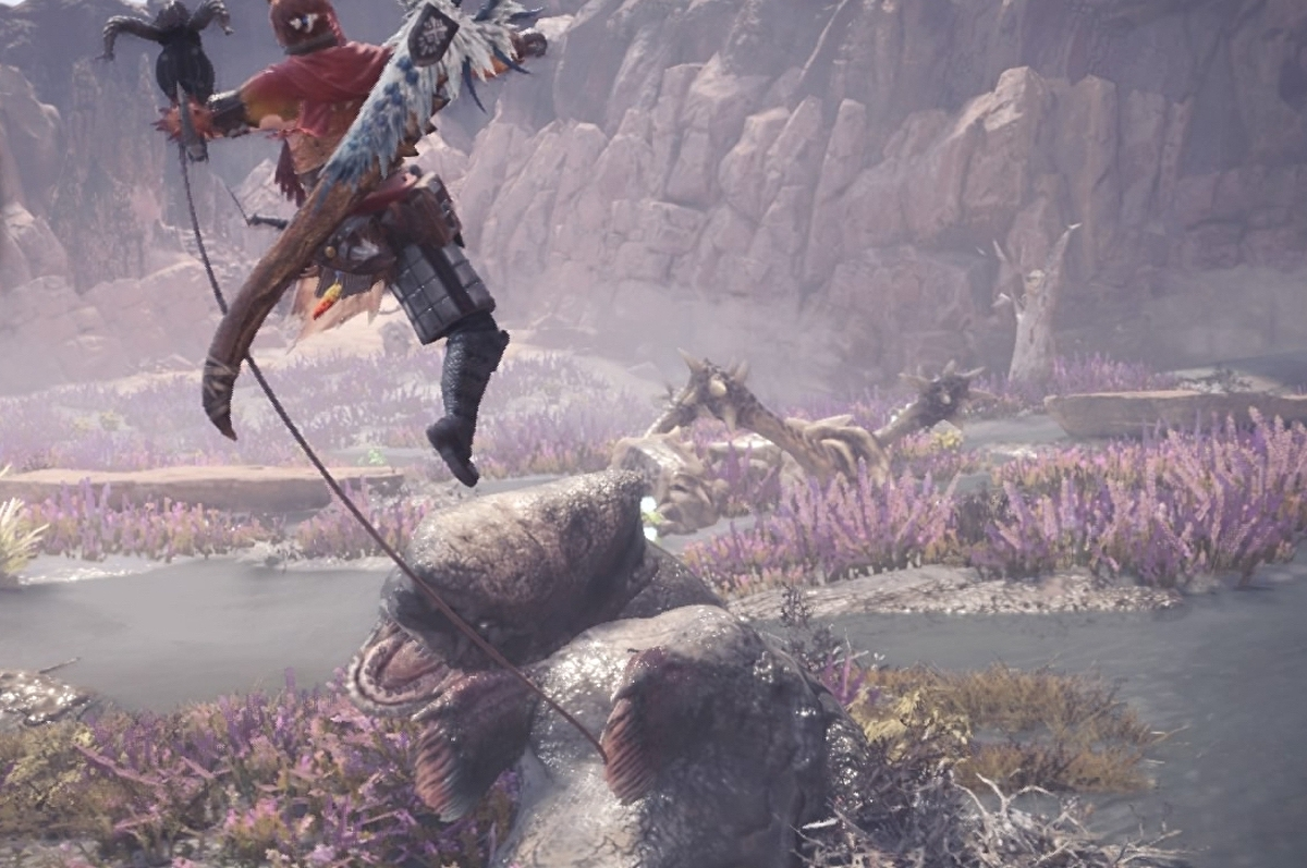 Monster Hunter World mounting: How to mount a monster and increase