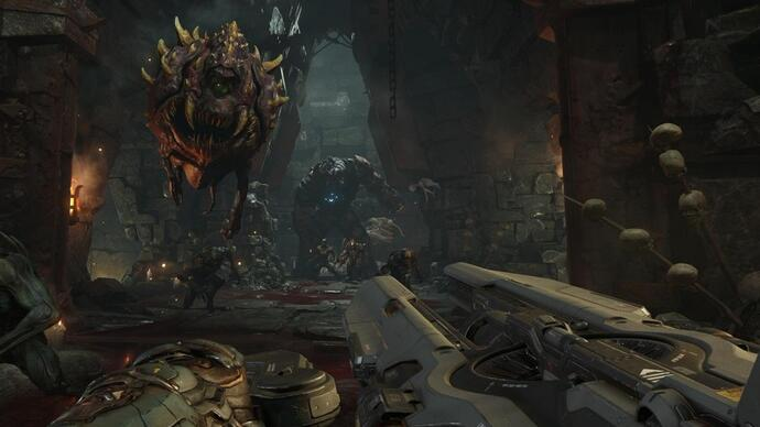 DOOM per Switch: la nuova patch introduce i controlli di movimento