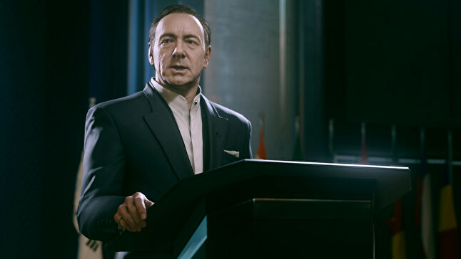 Kevin Spacey was in high demand when he signed on for Call of Duty: Advanced Warfare.