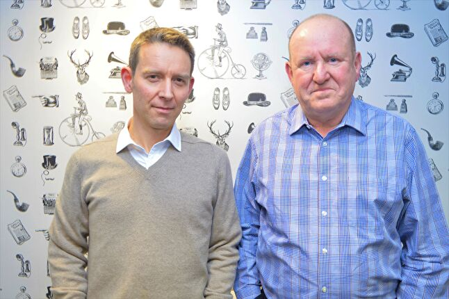 Rick Gibson (left) and Ian Livingstone (right) were the original co-authors of the BGI proposal, a new agency that takes physical form with this merger