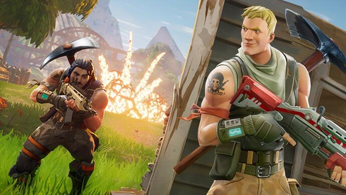 Epic teases jetpacks for Fortnite, launches limited-time Legendary-weapons-only Solid Gold event