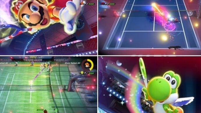 Looks like Mario Tennis Aces launches for Nintendo Switch in June