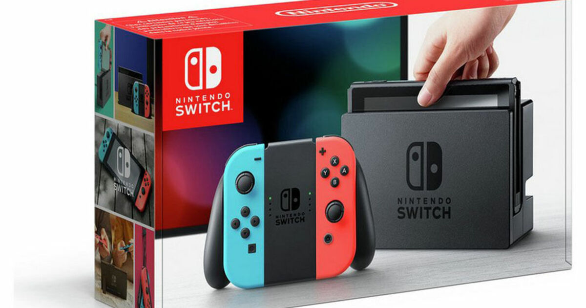 Jelly Deals Nintendo Switch discounted to 247 at um Maplin