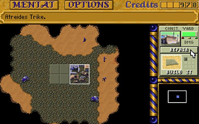 Dune II's influence on the real-time strategy genre is readily apparent even today