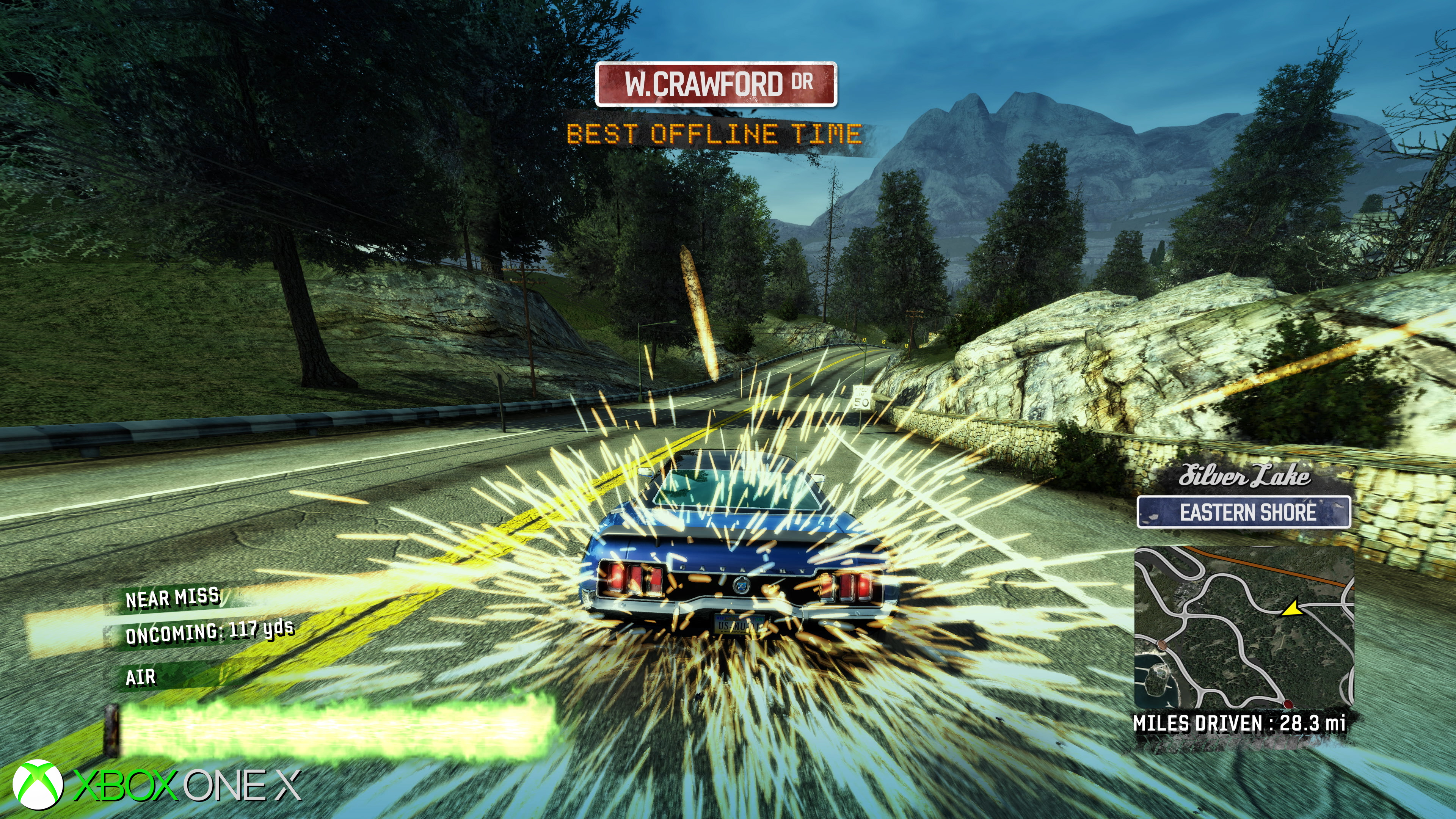 how to go into options burnout paradise pc