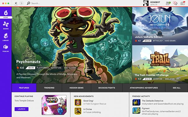 Kartridge will draw on Kongregate's learnings from its previous portals to improve developers' chances of getting their games in front of the right audience