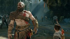 As we've come to expect from Sony Santa Monica, God of War features exquisitely detailed character models with excellent shading and realistic accessories. The facial expressions already manage to communicate a less rage-filled Kratos than previous games.
