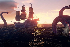 Sea of Thieves: un video mostra il combattimento contro il K