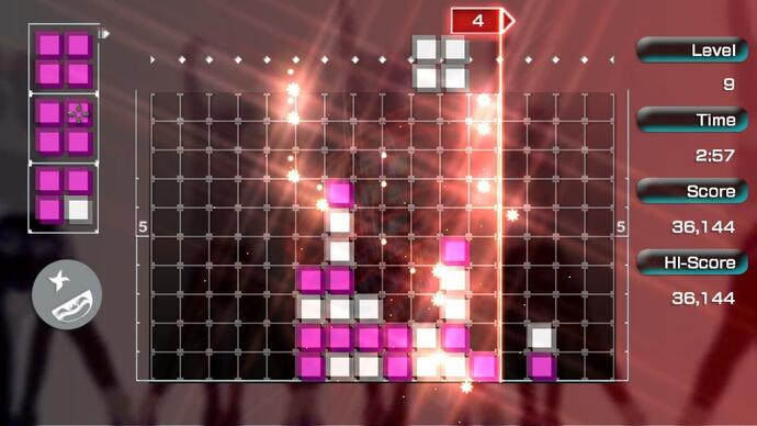 Lumines Remastered will turn your Switch JoyCons into trance vibrators