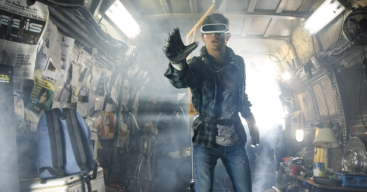 Ready player one film review garish and nostalgic but spielberg ready player one film review garish and nostalgic but spielberg gets games eurogamer publicscrutiny Choice Image