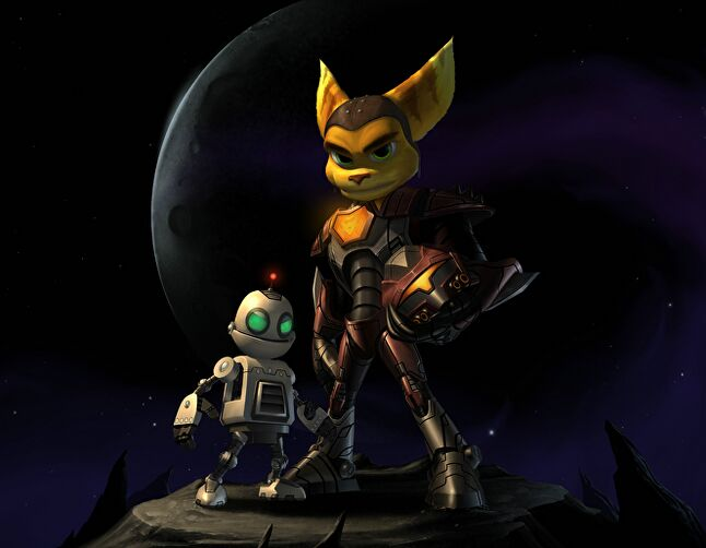 The fourth Ratchet and Clank game was inspired by Halo. It was a mistake.